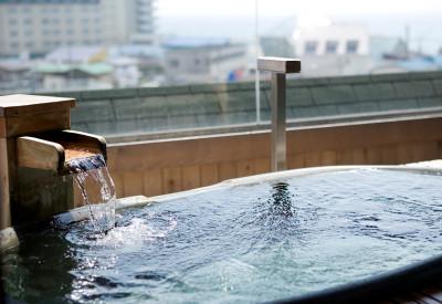 展望貸切露天風呂「海百景」