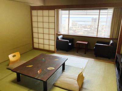 【オーシャンビュールーム】和室10畳 一例