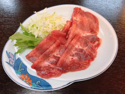 別注料理 牛タン(イメージ)