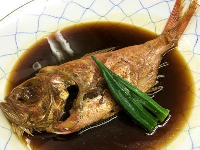 別注料理 金目鯛煮つけ
