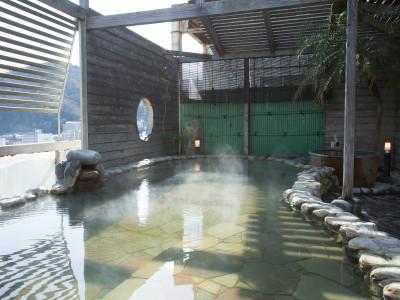 本館11階 展望露天風呂