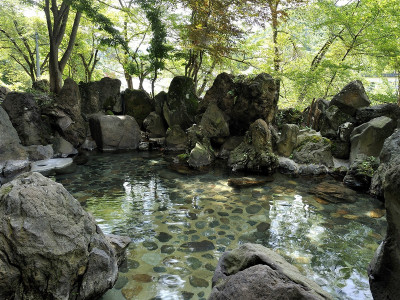 露天風呂(仙峡)