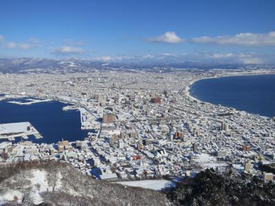 函館山眺望 冬