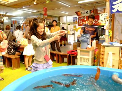 函館朝市、イカ釣り体験 通年
