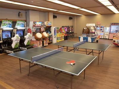 ゲーム・卓球コーナー