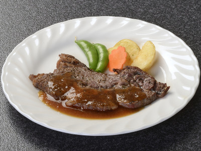 別注料理 那須野ヶ原牛のステーキ(イメージ)