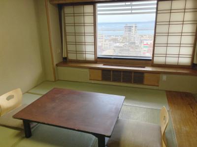 【オーシャンビュールーム】和室7.5畳 一例