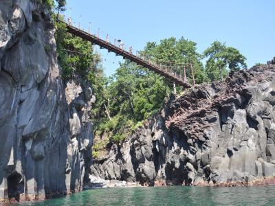 城ヶ崎海岸 吊り橋