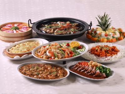 宴会料理 楽宴プラン一例
