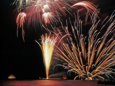 箱根 湖水祭