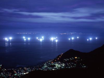 函館山夜景 漁火