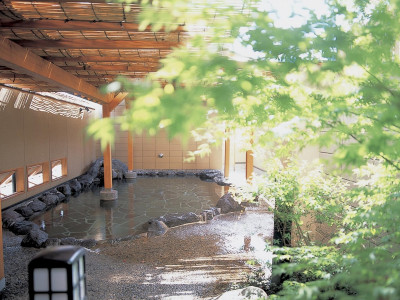 川蝉の湯(露天風呂)