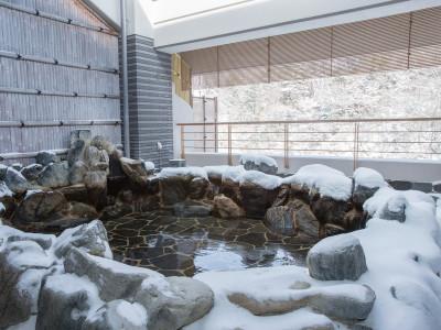 露天風呂 ー冬ー