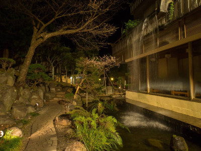 庭園(夜)②