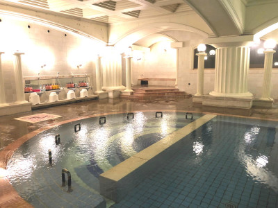 大浴場バイブラ風呂(ローマ風呂内)