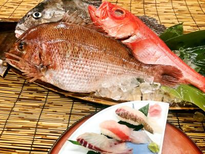 別注料理 地魚寿司(イメージ)