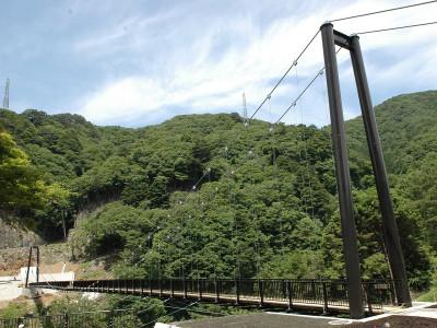 鬼怒川立岩大吊橋
