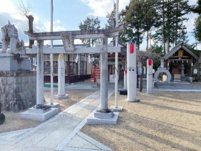 西根神社どんと祭・高畑天満宮うそかえ祭り