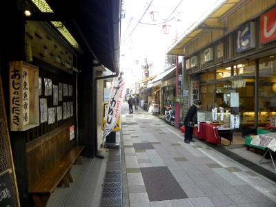 見どころの多い湯の花通り商店街