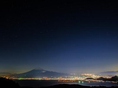 達磨山 夜景