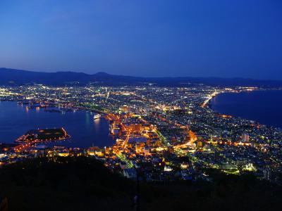 函館山夜景 夏