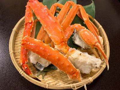 【別注料理】本ずわい蟹とたらば蟹食べ比べ