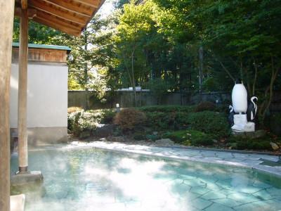黄金の湯館露天風呂