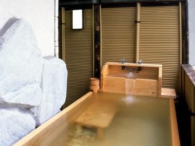 柳の館 露天風呂付客室(沸かし湯)
