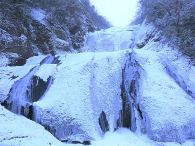 袋田の滝 冬