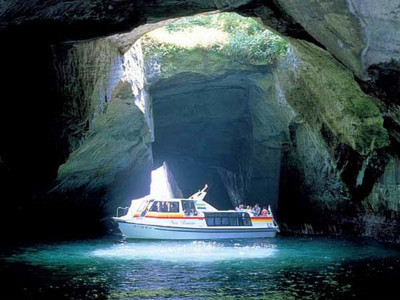 堂ヶ島-洞窟巡り-