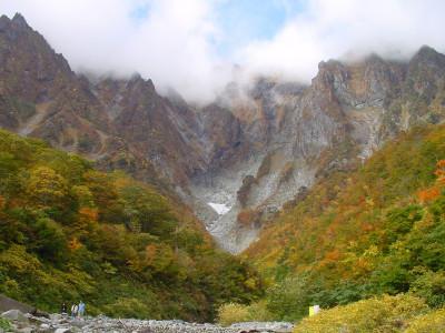谷川岳 一の倉沢 秋