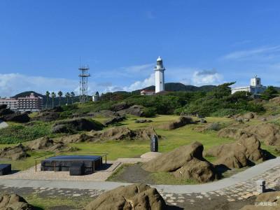 野島埼灯台と公園 南房総市