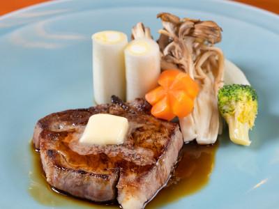 別注料理(上州牛のステーキ)