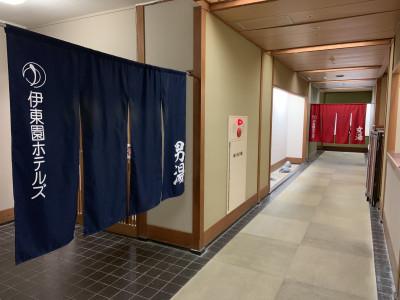 大浴場前廊下