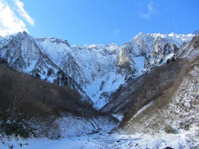 谷川岳一の倉沢 冬