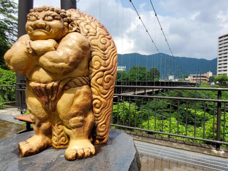 鬼怒楯岩大吊橋(ホテルより車で約5分)