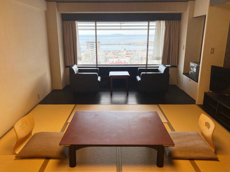【オーシャンビュールーム】和室10畳【禁煙】一例