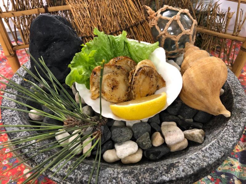 ホタテバター焼き(1,000円券1枚)
